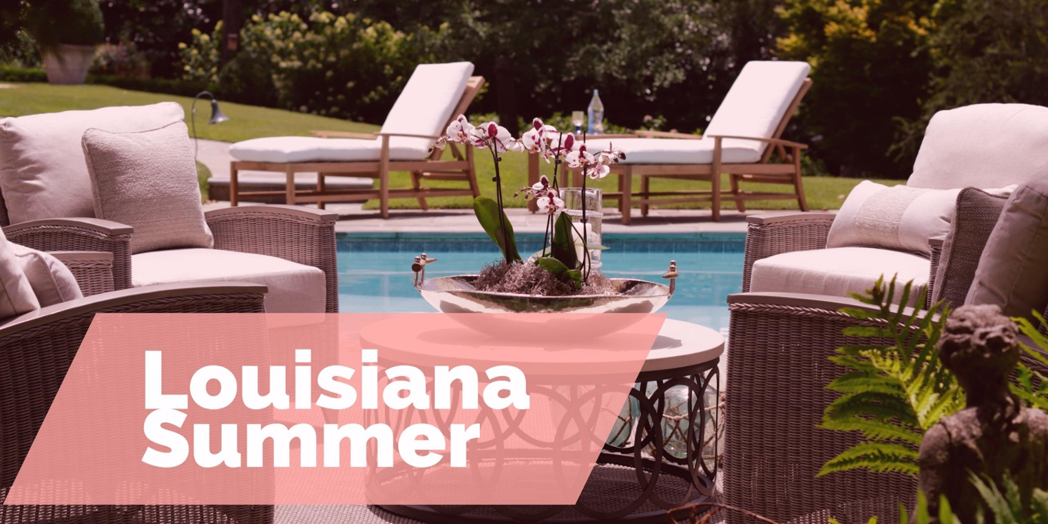 Ordinaire 5 Top Outdoor Furniture Options For Your Louisiana Summer With Dimensions  1522 X 761