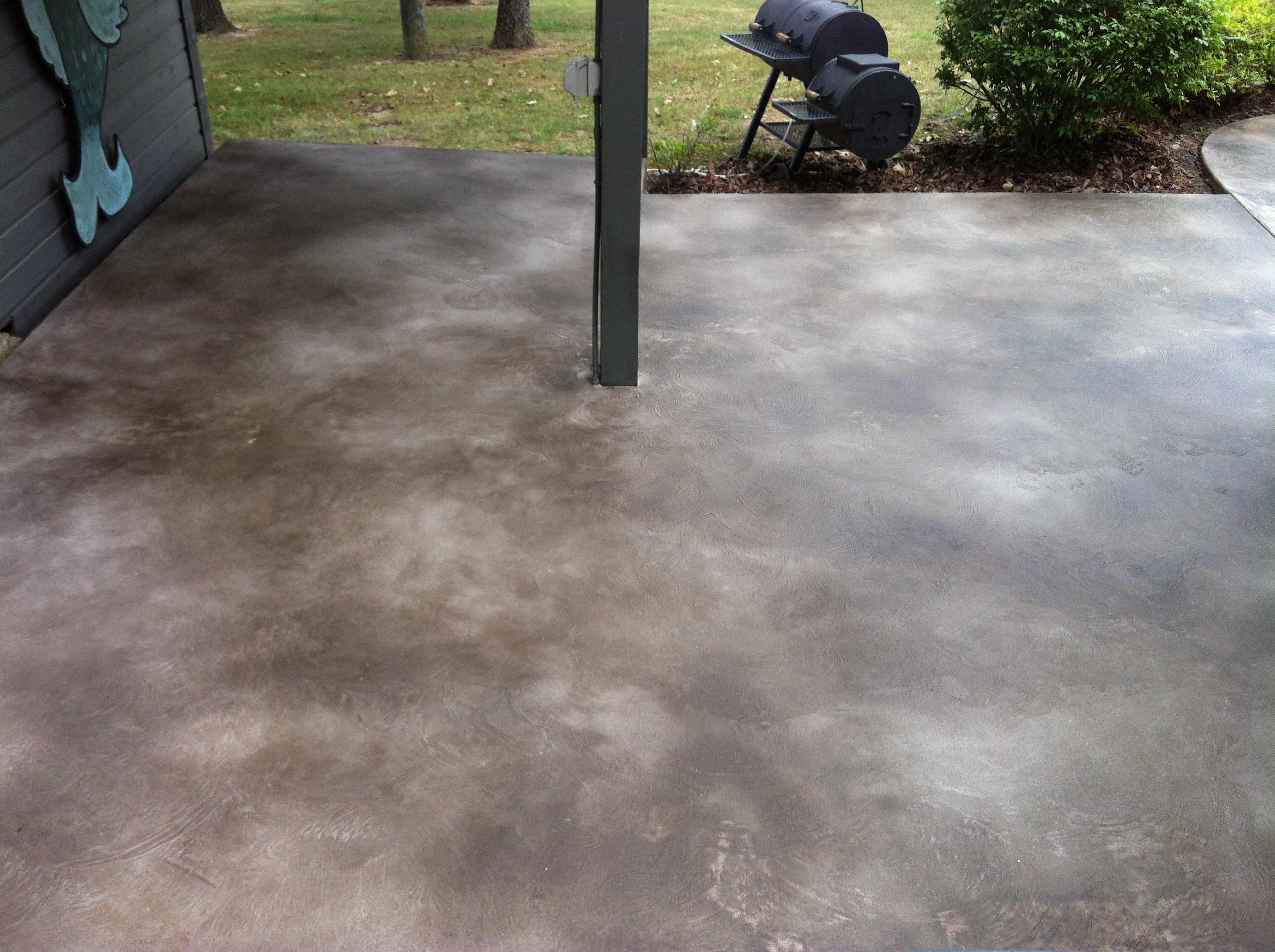 acid wash concrete patio unique diy concrete stain patio diy in size 2592 x 1936 - Diy Concrete Patio