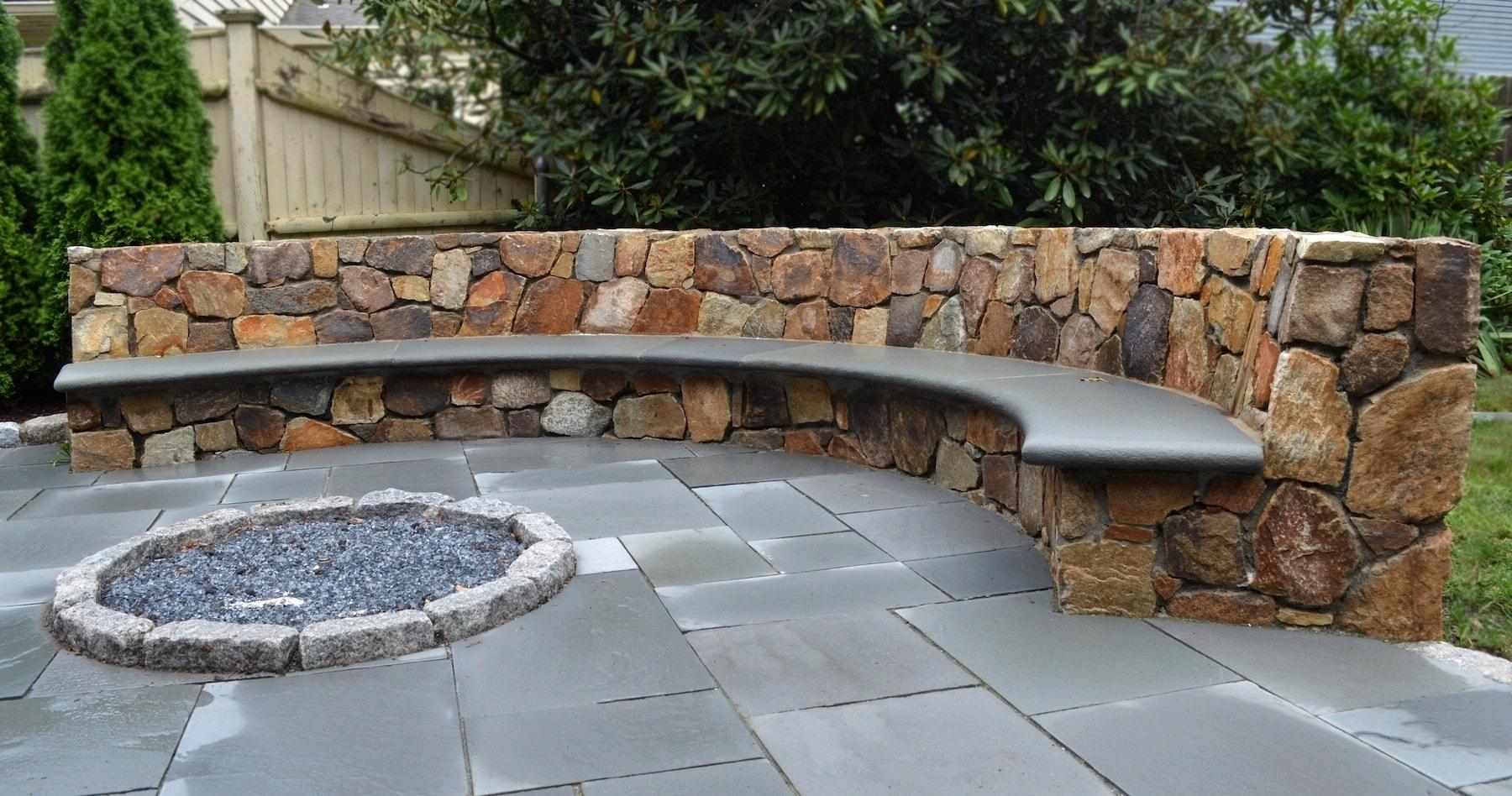 Adorable Patio Designs Bench Stone Design Tempo In Proportions 1800 X 948