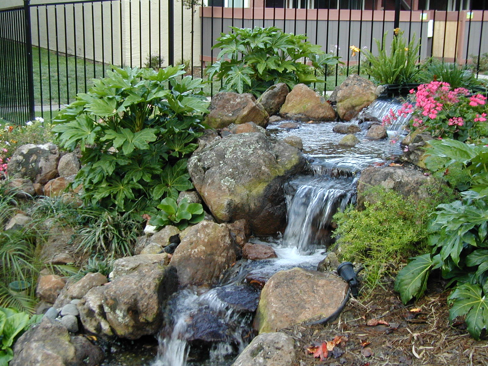 Alexander Sons Water Feature Fall Landscaping Services Portfolio In  Dimensions 1600 X 1200