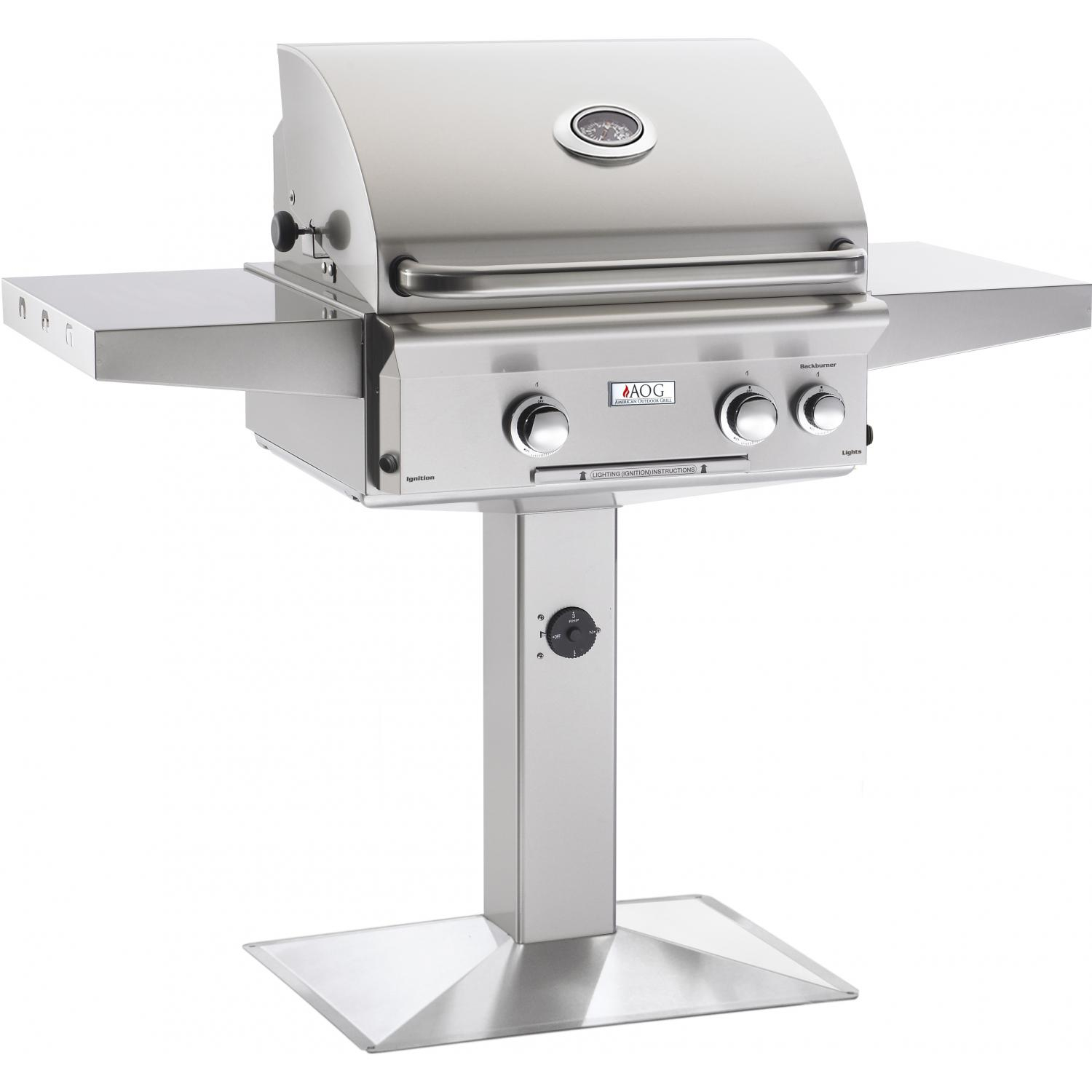 American Outdoor Grill L Series 24 Inch 2 Burner Natural Gas Grill throughout sizing 1500 X 1500