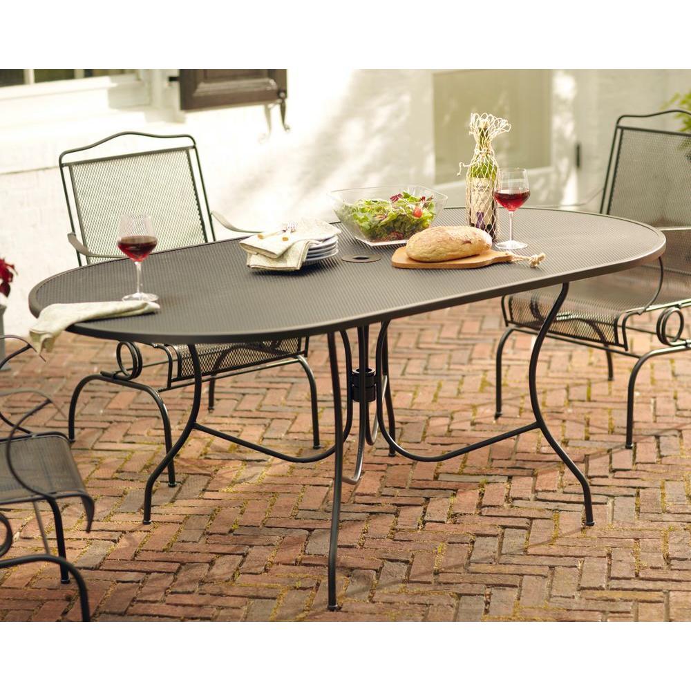 Arlington House Jackson Oval Patio Dining Table 3872200 0105157 pertaining to size 1000 X 1000