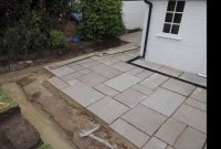 Autumn Green Slabs Laid New Drains Installed Drainage And Brick regarding dimensions 1280 X 720