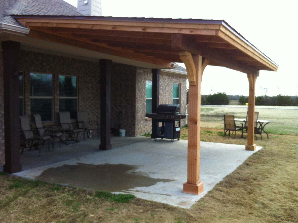 Charmant Back Patio Cover Sportwholehousefansco Within Proportions 1200 X 896
