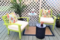 Backyard Makeover Chronicles Patio Furniture Refresh For Under 20 for dimensions 1024 X 768