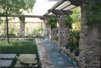 Backyard Waterfall Design Backyard And Patios with regard to proportions 1024 X 768