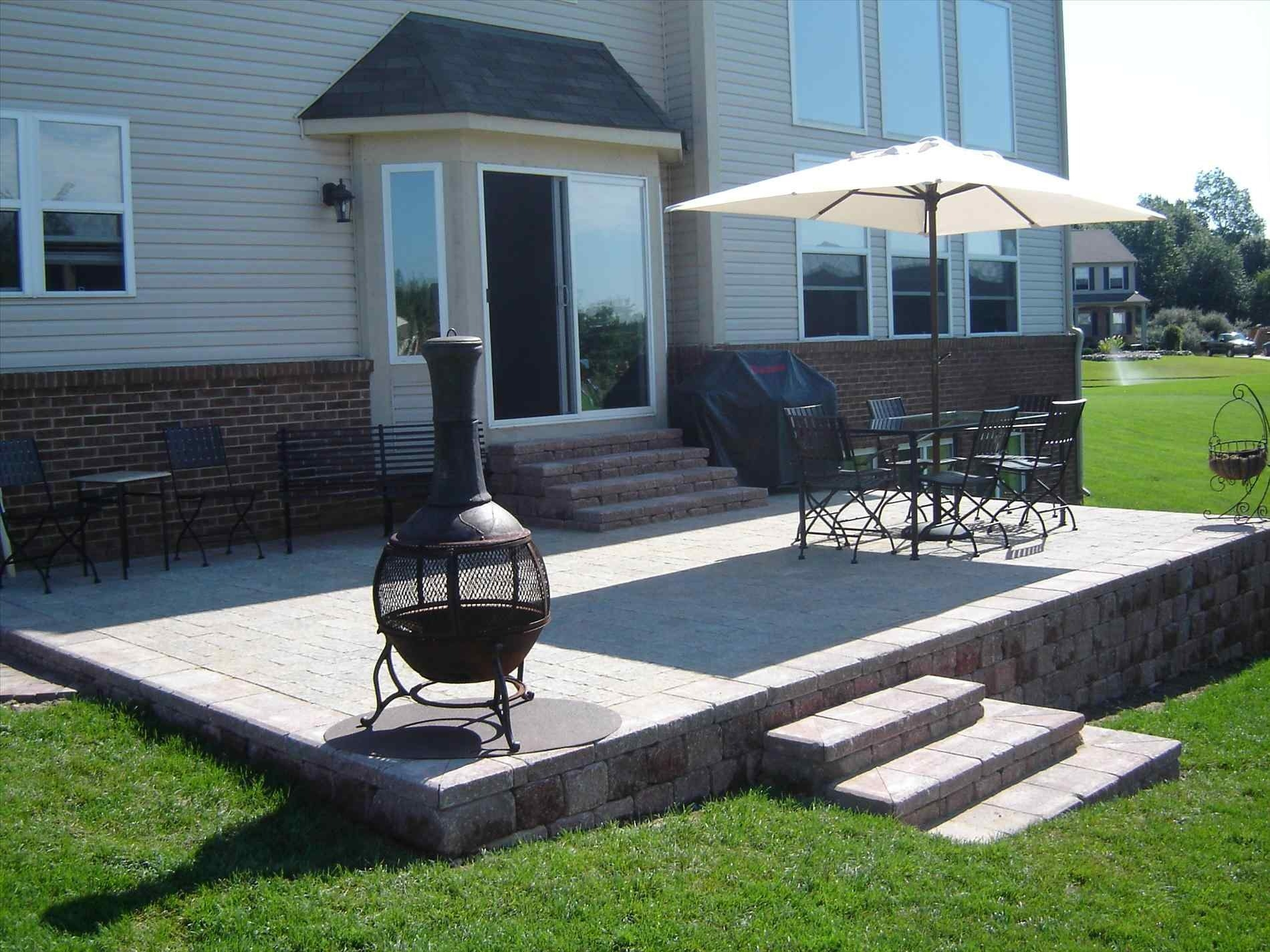 Backyards Backyard Steps For Deck Images Best Backdoor Patio Ideas Regarding Size 1900 X 1425