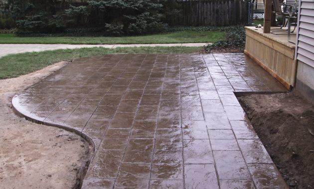 Poured Concrete Patio Estimate • Patio Ideas on Poured Concrete Patio Ideas id=13666