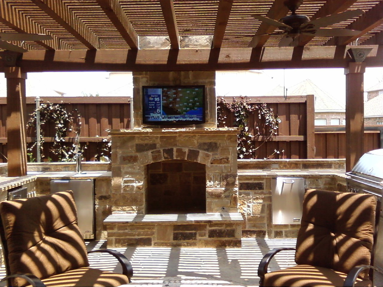 Beau Bar Furniture Patio Tv Ideas Outdoor Patio Tv Mounts Icamblog Inside Sizing  1280 X 960