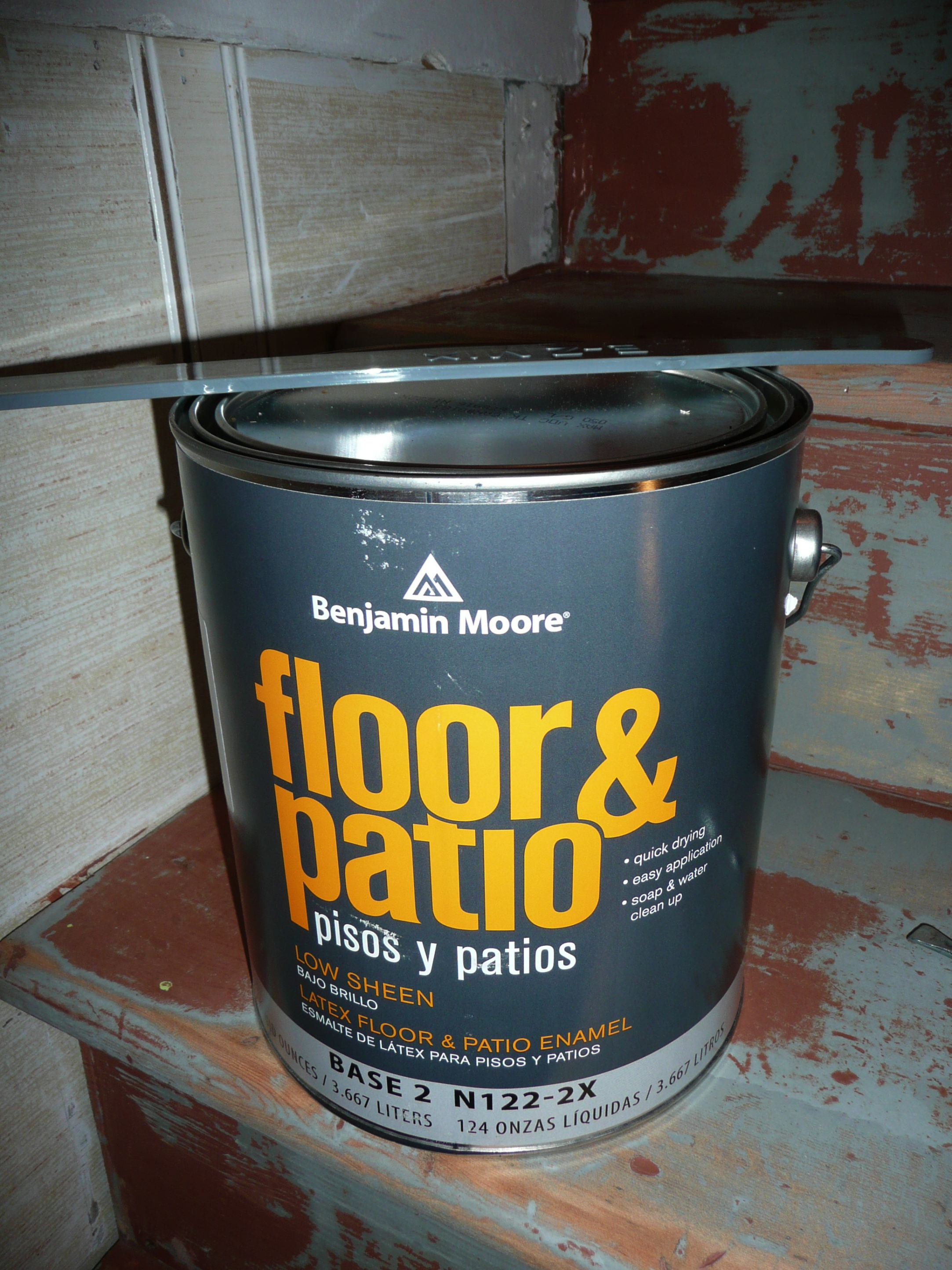 Etonnant Benjamin Moore Floor And Patio Paint 2 Ultramodern Photo Of 5 Throughout  Sizing 2166 X 2888