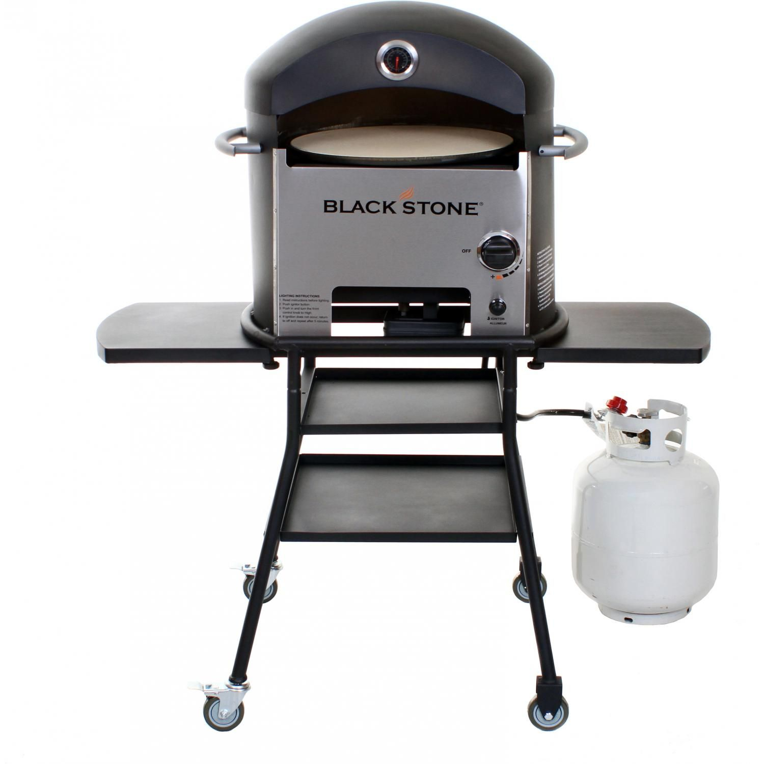 Charmant Blackstone Propane Gas Outdoor Convection Pizza Oven On Cart 1575 Regarding  Size 1500 X 1500