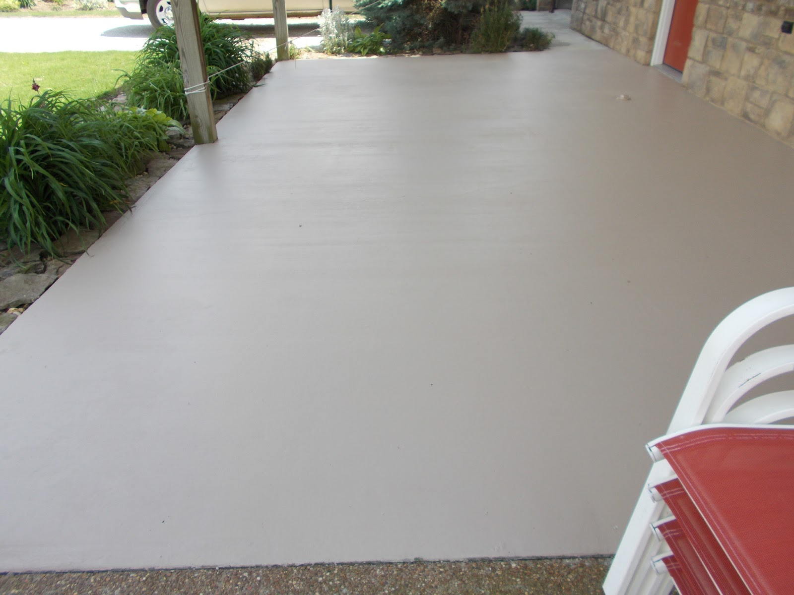 Charmant Cement Patio Paint Sportwholehousefansco Inside Size 1600 X 1200