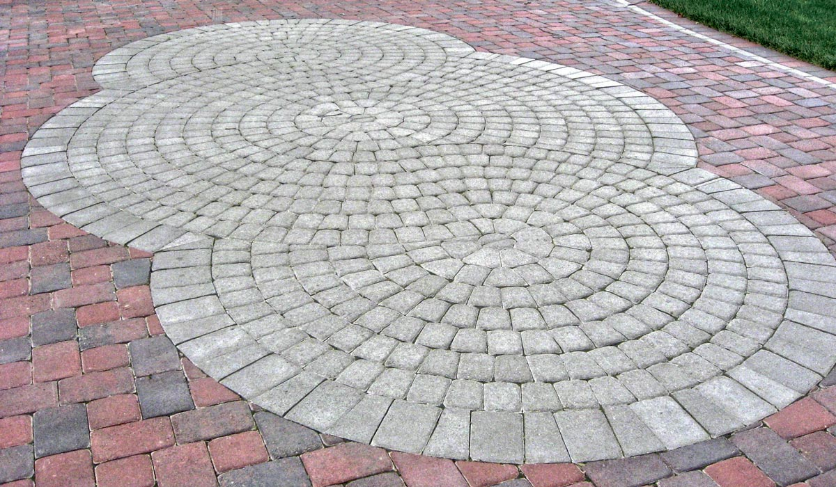 Circle Kit Specialty Paver Romanstone Hardscapes intended for dimensions 1200 X 700 & Round Patio Paver Kit u2022 Patio Ideas