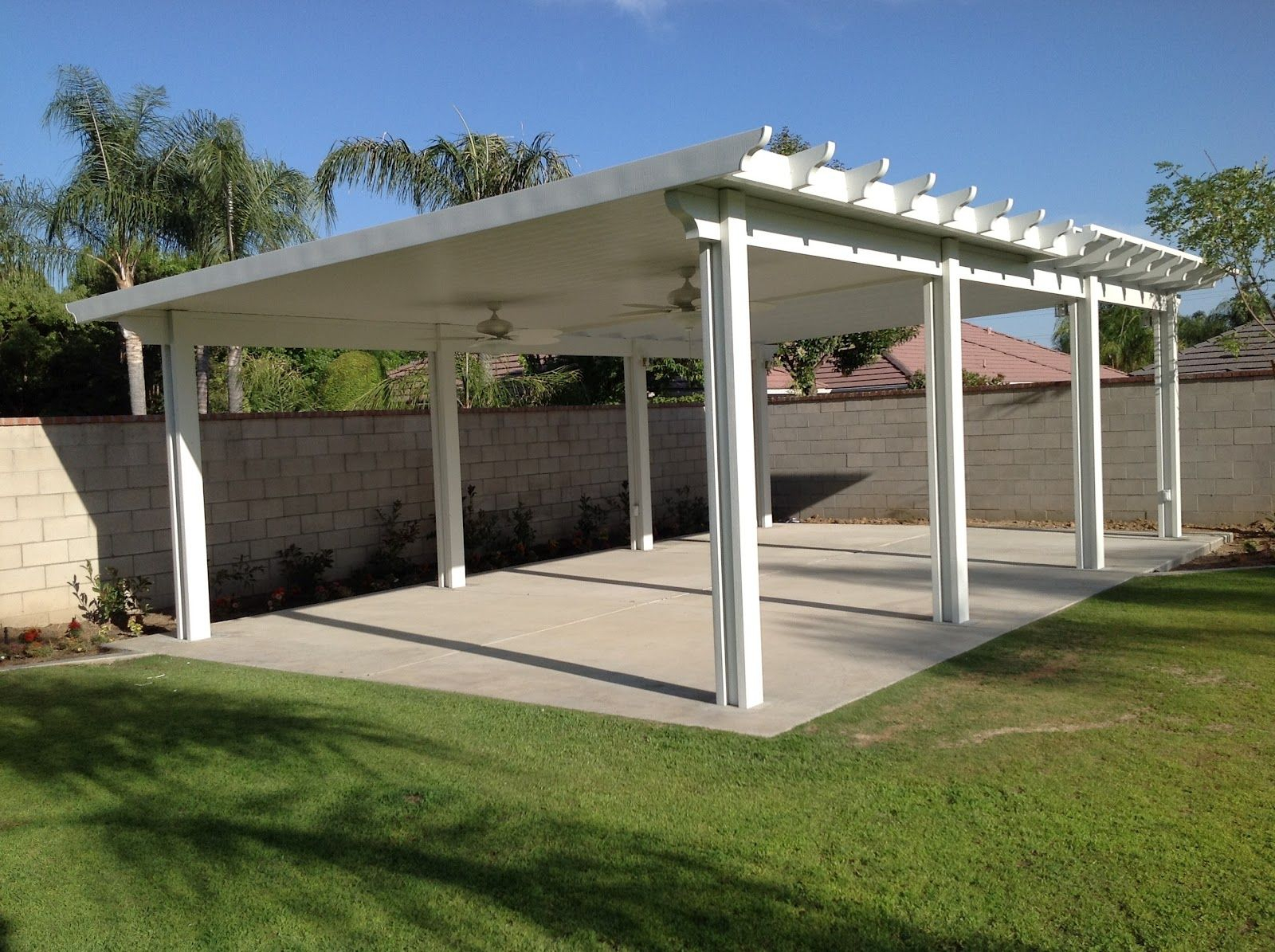Stand Alone Designs : Stand alone covered patio designs ideas