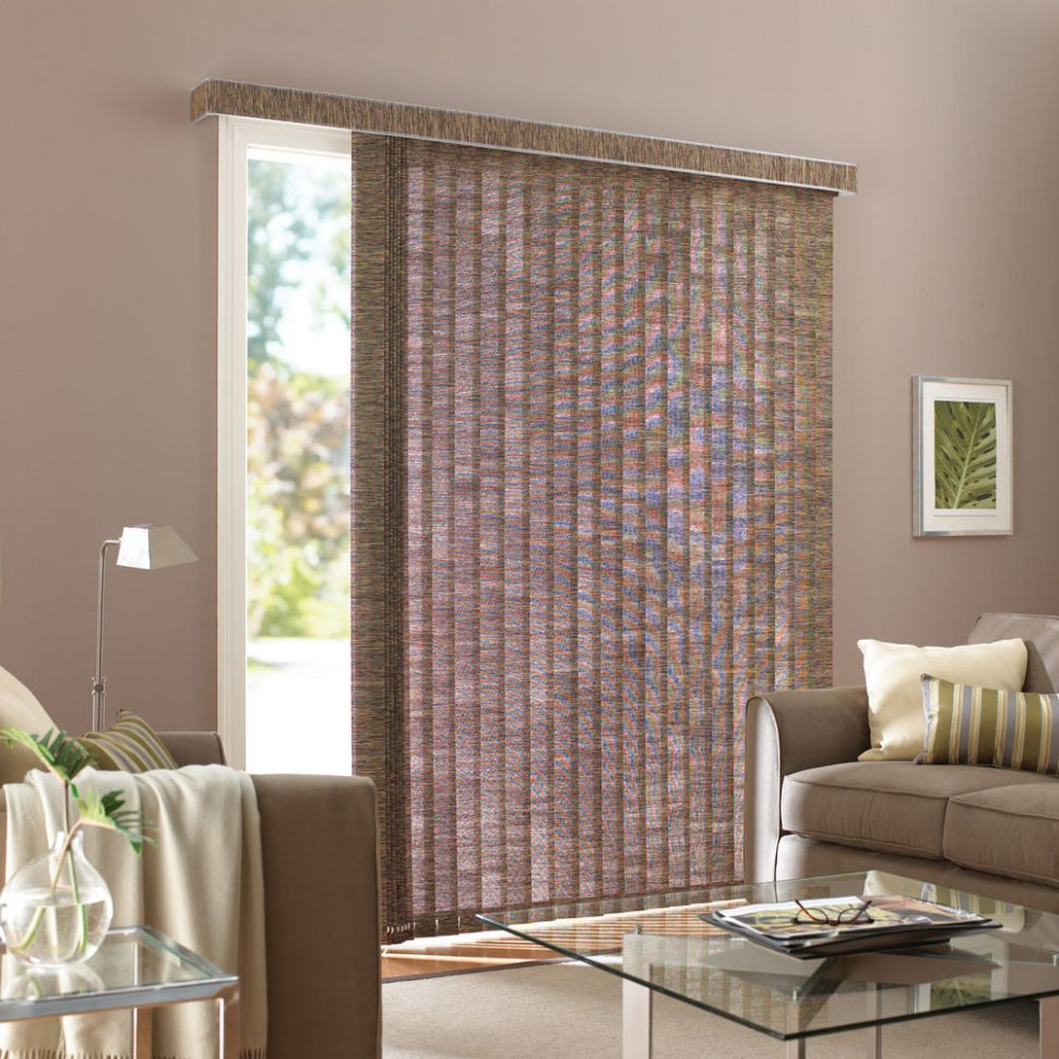 Fabric Vertical Blinds For Patio Door Patio Ideas
