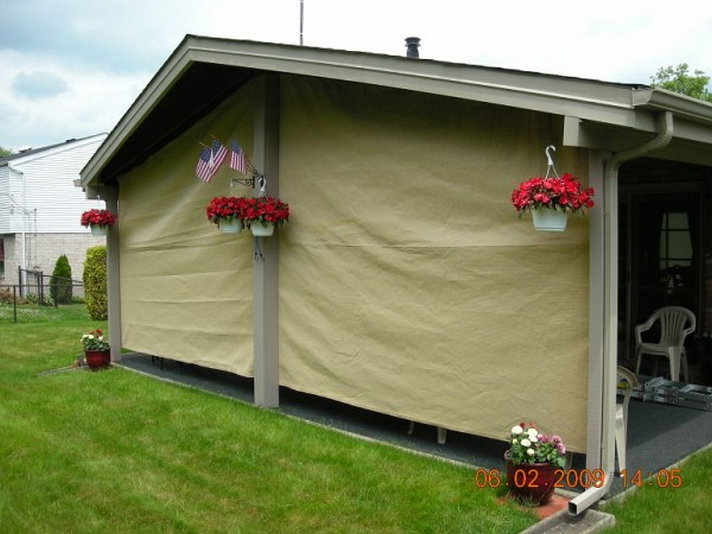 Custom Shade Cloth Panels Tarps 15 Colors For 2018 Within Size 1024 X 768