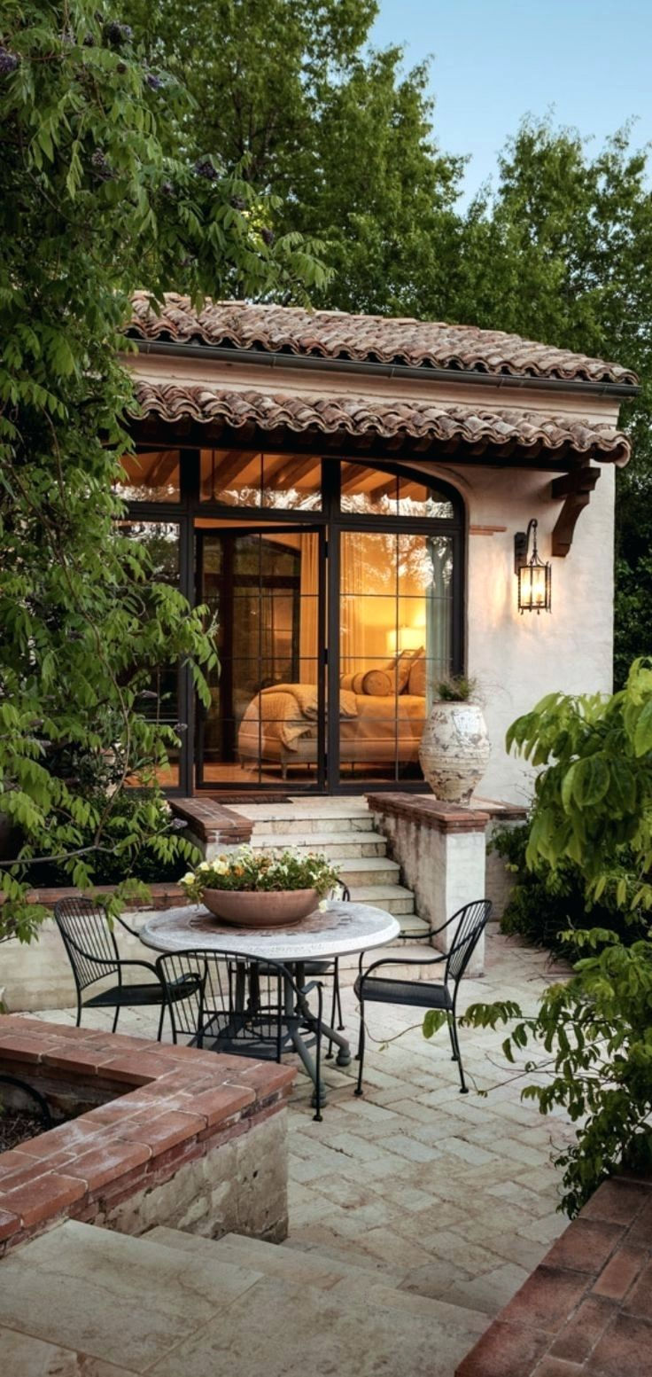 Spanish Style Patio Cover Designs Ideas