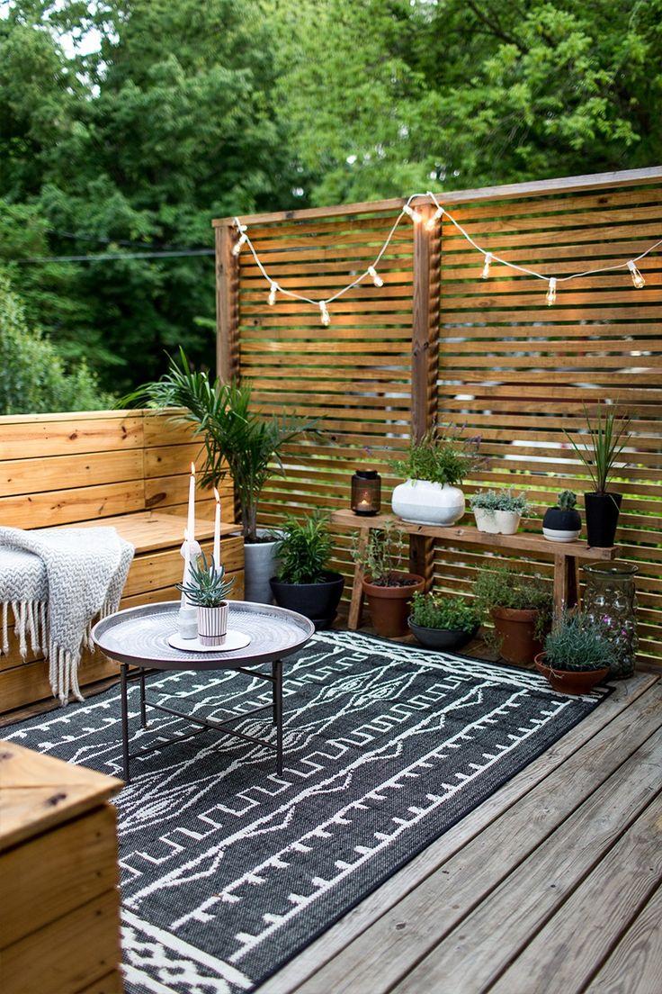 Patio Designs For Small Areas • Patio Ideas