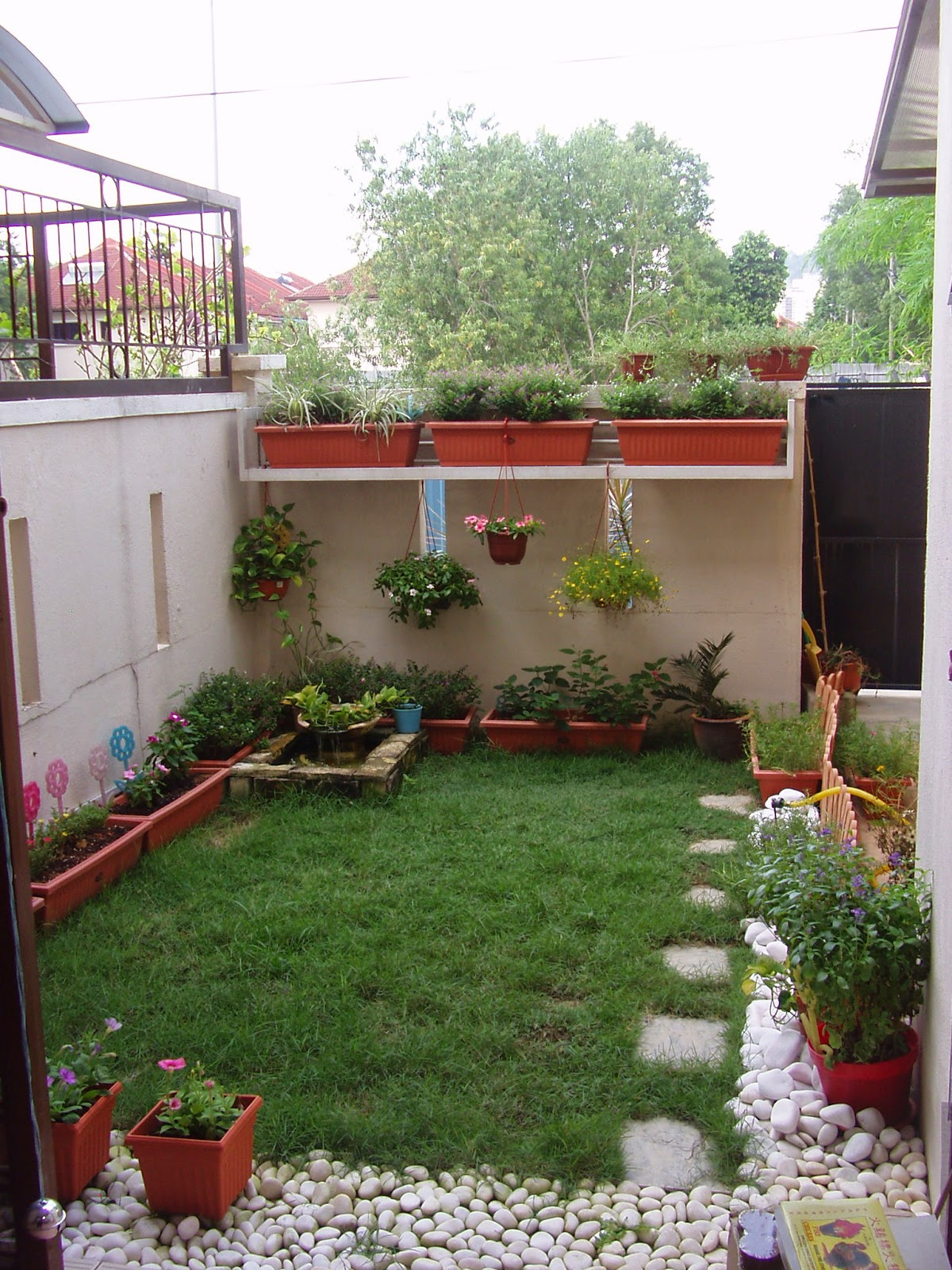 Tiny Garden Ideas Patio Townhouse Patio Ideas