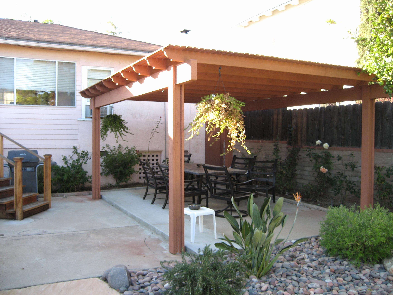Garden Patio Shelter Ideas • Patio Ideas