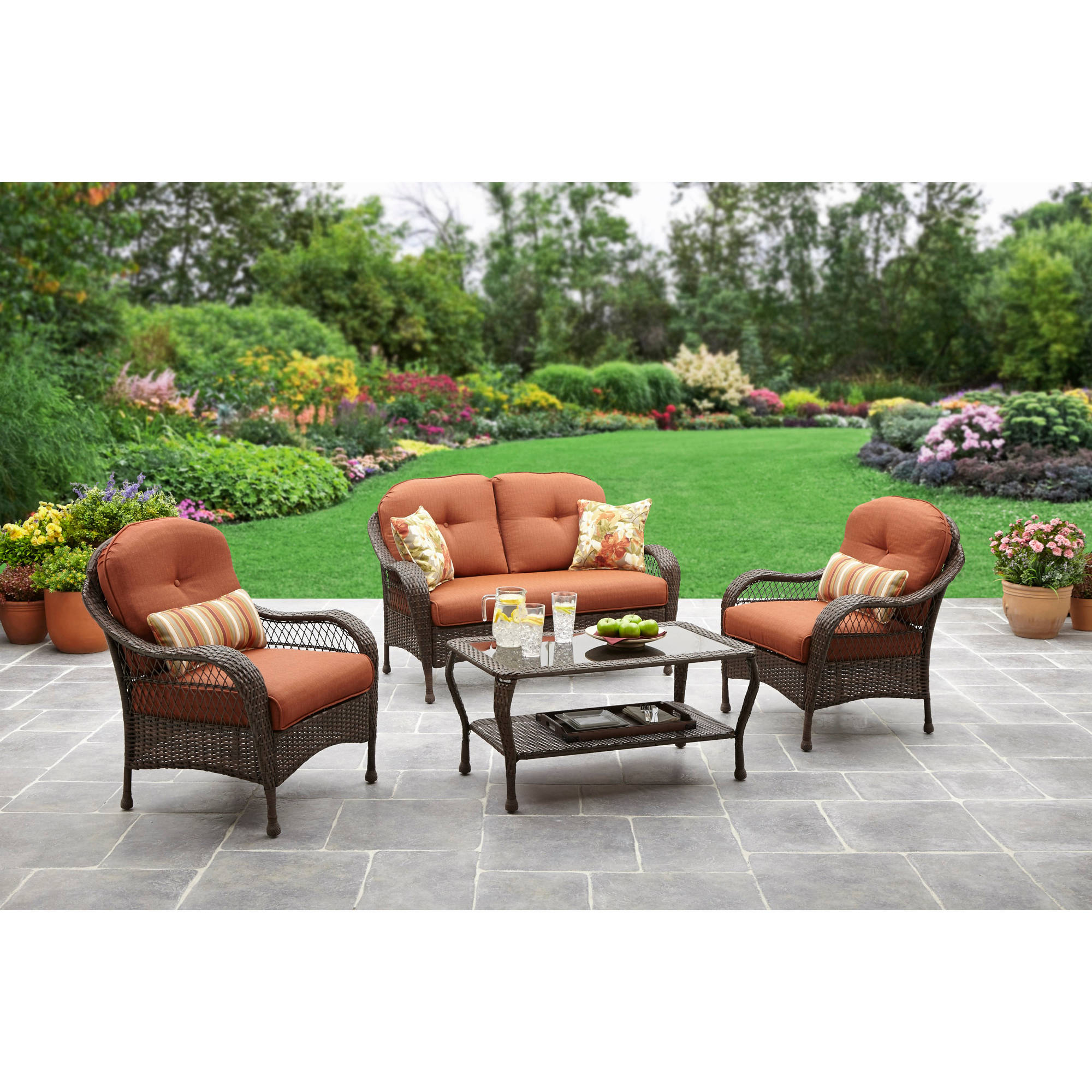Impressive On Wilson And Fisher Patio Furniture 4 Piece Within Dimensions 2000 X