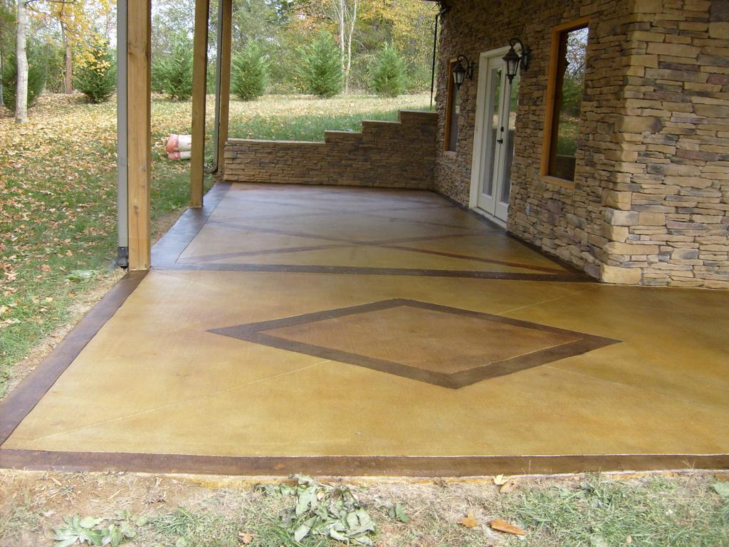 Innovative Concrete Patio Paint Lovely Paint For Cement 8 Stain With Regard  To Measurements 1024 X