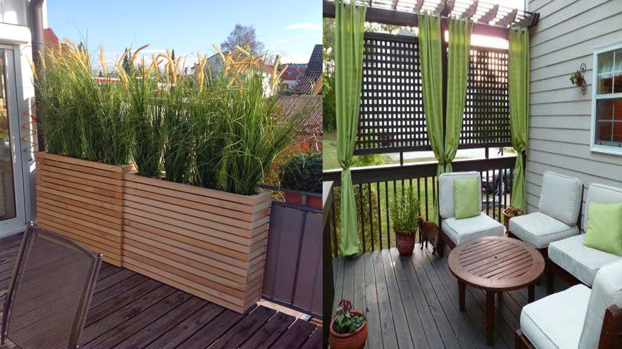 Inspiring Small Balcony Privacy Screen Ideas Small Balcony Designs In  Dimensions 1280 X 720