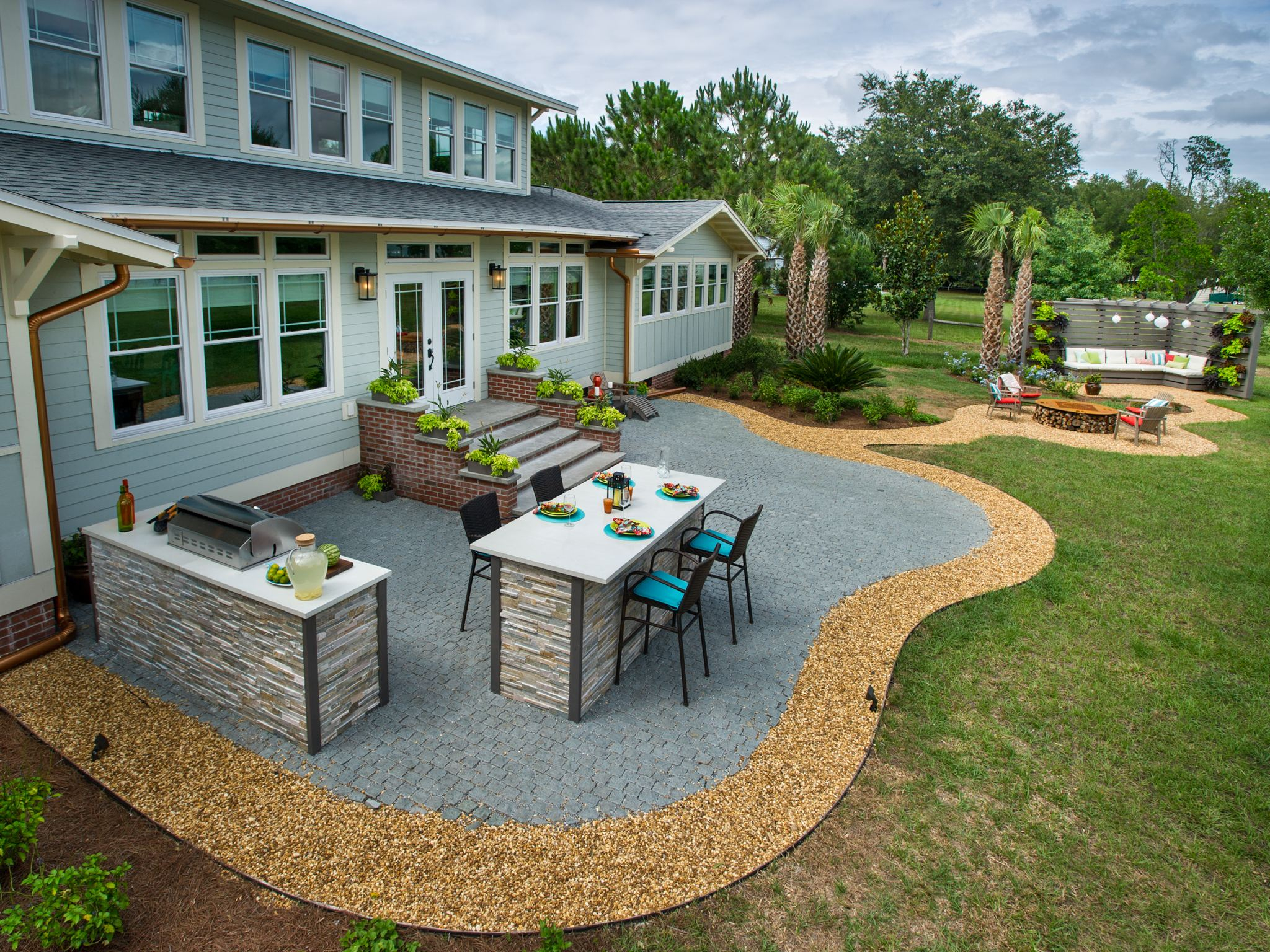 Interior Crushed Rock Patio Ideas Small Gravel Diy Stone Base throughout size 2048 X 1536