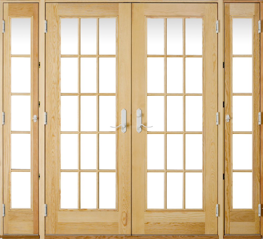 French View Patio Door With Venting Sidelites Patio Ideas