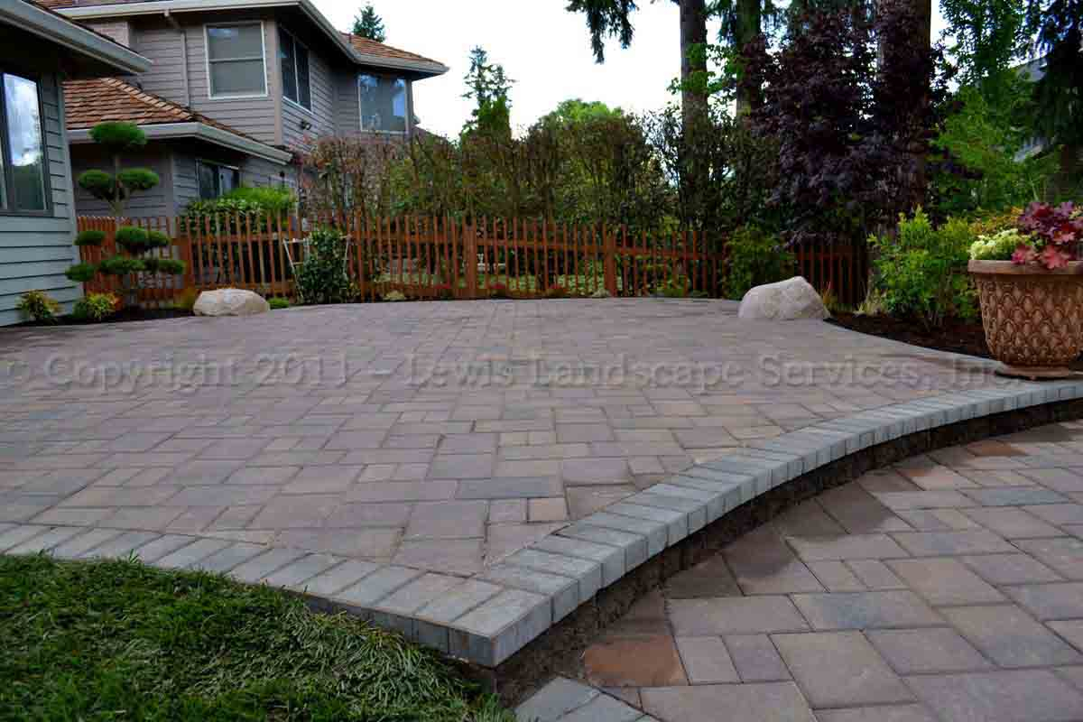 Lewis Landscape Services Paver Patios Portland Oregon Beaverton Inside Sizing 1200 X 800