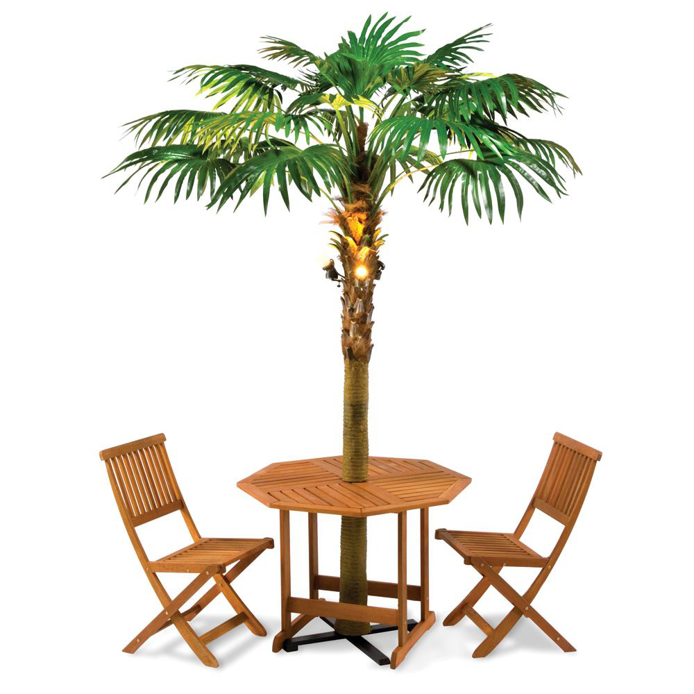 Lighted Palm Tree Umbrella The Green Head Throughout Measurements 1000 X  1000