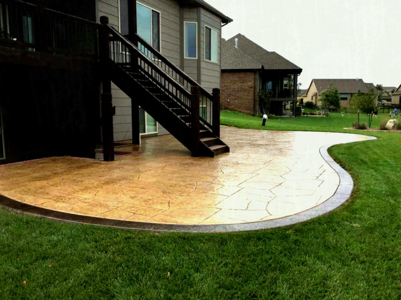 Concrete Patio Shapes And Designs • Patio Ideas