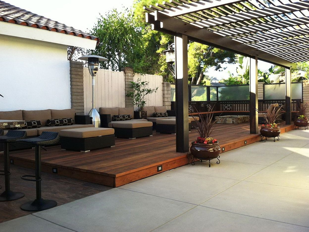 Modern Outdoor Deck Ideas Modern Outdoor Deck Ideas Home Design With Size  1248 X 937