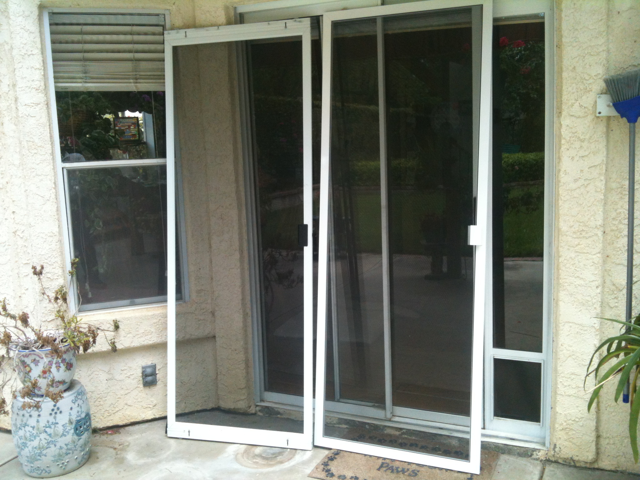Nifty Guardian Patio Screen Doors F62x About Remodel Simple Home Regarding  Measurements 2048 X 1536