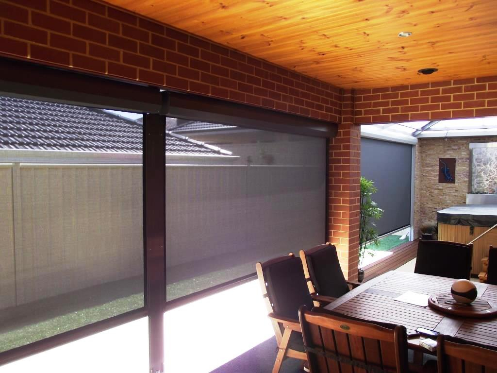 Outdoor Blinds Perth Cafe Patio Throughout Size 1024 X 768
