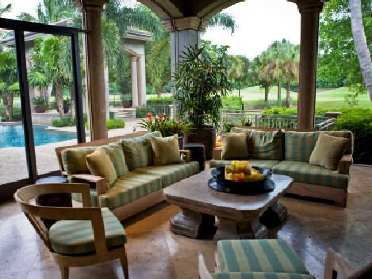 Charmant Outdoor Covered Porch Ideas Lanai Patio Decorating Ideas Florida With  Regard To Size 1280 X 960