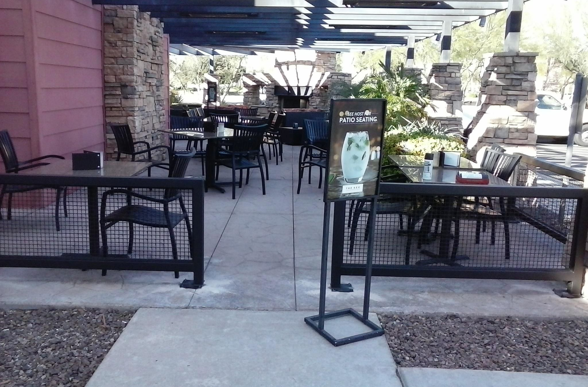 Outdoor Restaurant Patio Fencing Fences Ideas intended for size 2048 X 1350