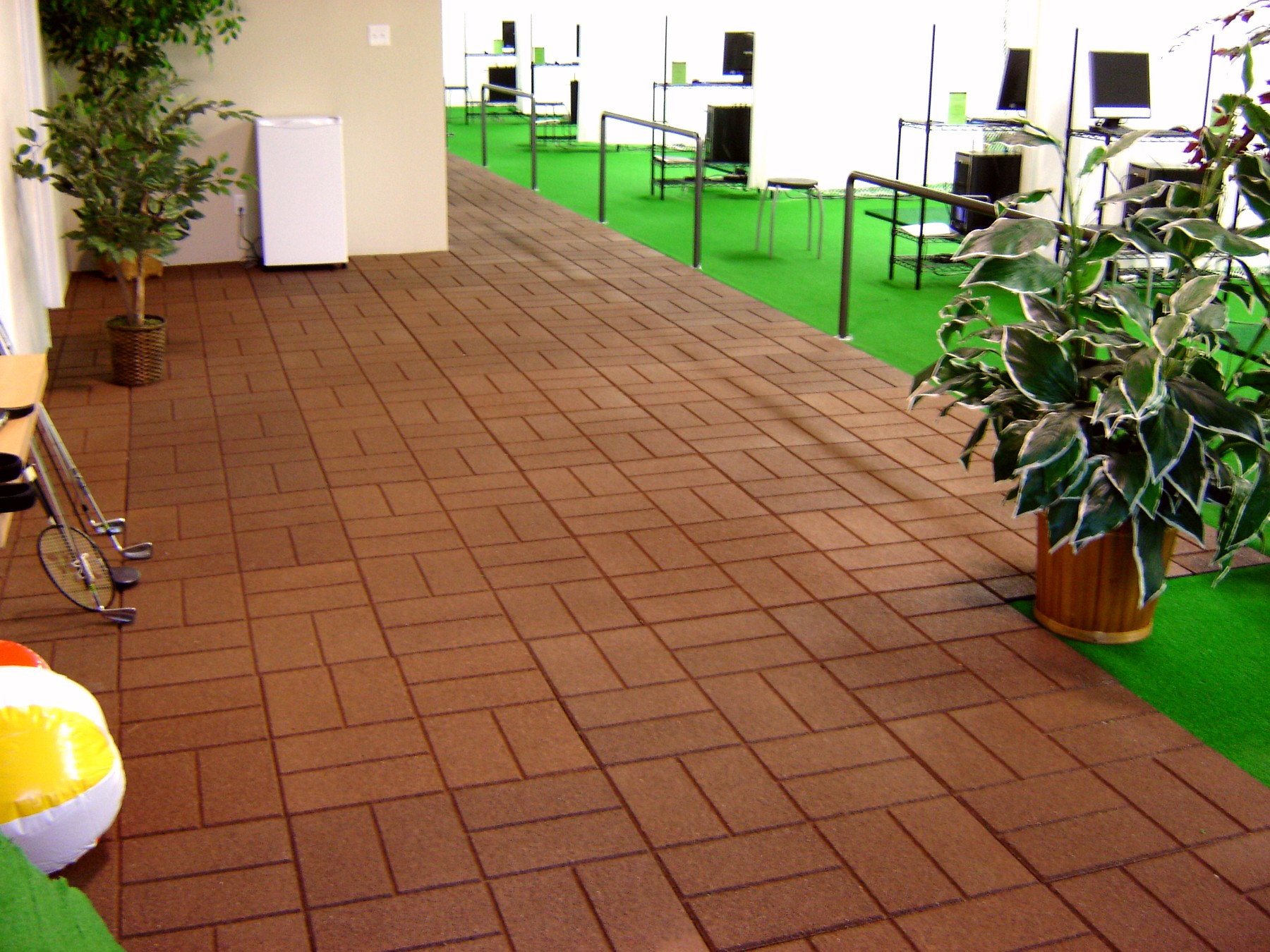 Outdoor Rubber Tiles For Patio Designs Pertaining To Size 1800 X 1350