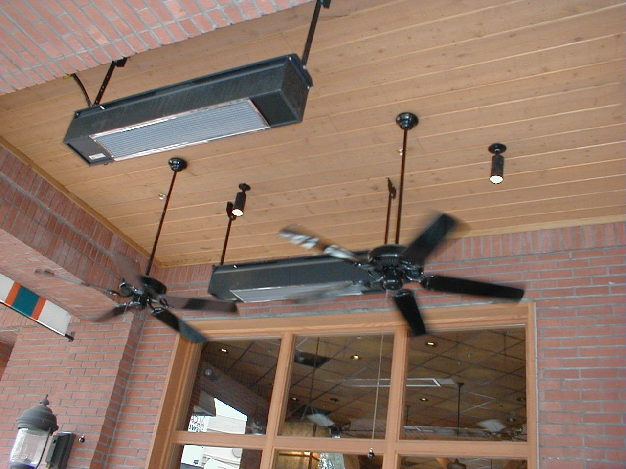 Overhead Radiant Infrared Gas Patio Heaters Patio Designs Regarding Sizing  1280 X 960