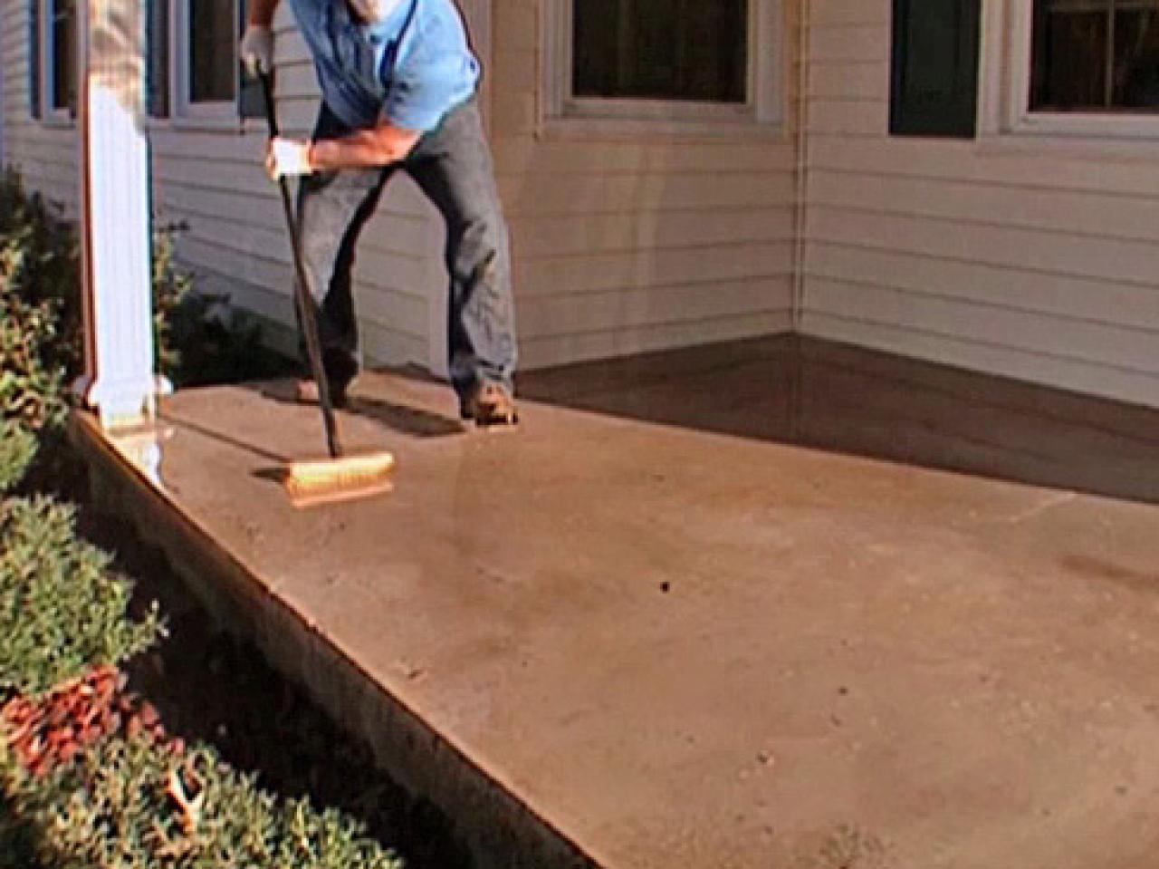 Delicieux Patio Amazing Cement Patio Paint Design For Upgrading Your Tiles Throughout  Measurements 1280 X 959