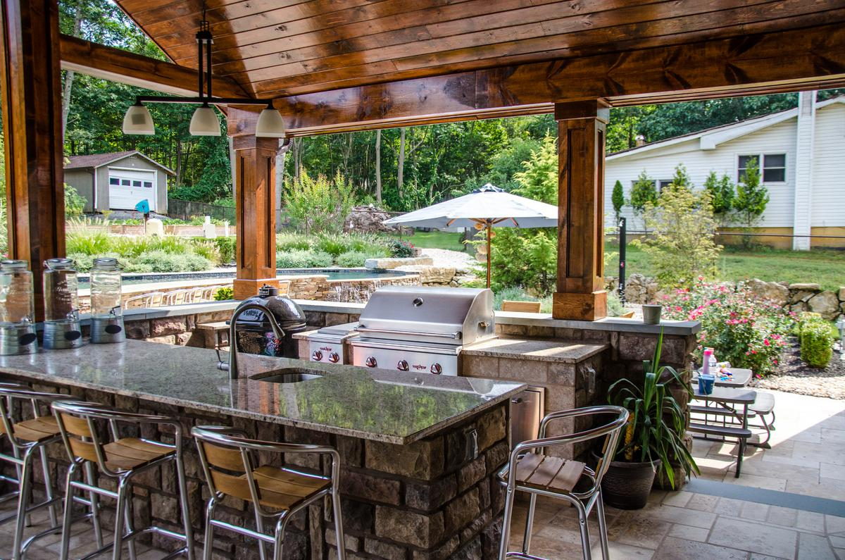 Patio Design Raised Patio Builders Elite Landscapes With Dimensions 1200 X  795