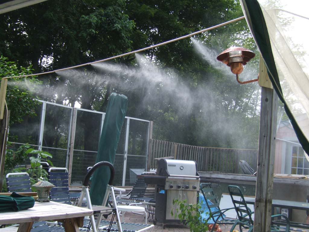 Patio Outdoor Misting System Sathoud Decors Installing Outdoor in  measurements 1024 X 768 - Water Misters For Patios • Patio Ideas