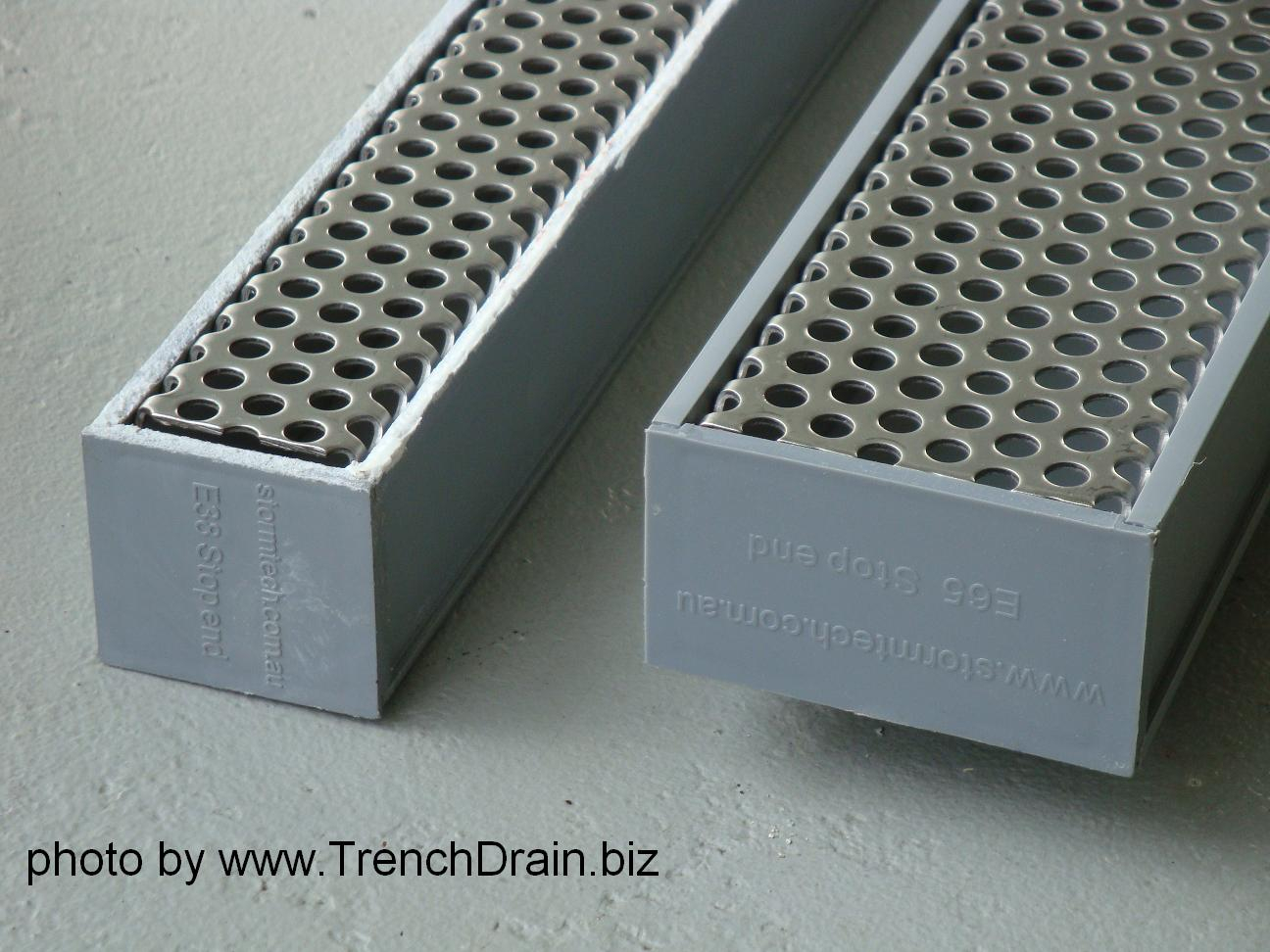 Residential Drainage Plastic Trench Drain Inside Measurements 1296 X 972