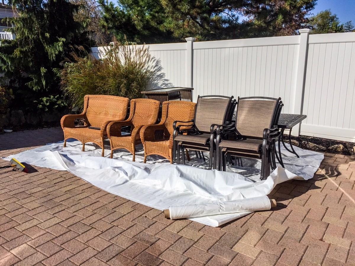 Shrink Wrap Patio Furniture Diy