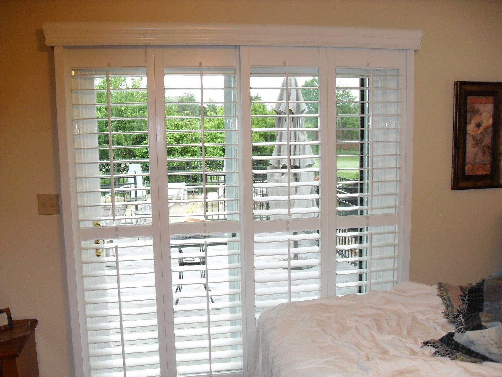 Sliding Patio Door Blinds Ideas Modernize Your Sliding Glass Door For Size  1600 X 1200