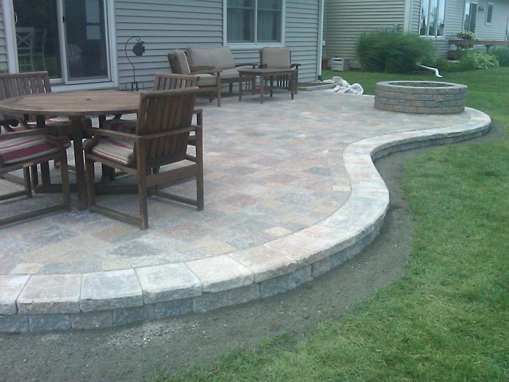 Small House Patio Stone Brick Pavers Ann Arborcantonpatios With Size 1024 X  768