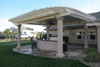 Solid Roof Patio Cover Plans Combination Style Solid And Lattice with regard to dimensions 2816 X 2112