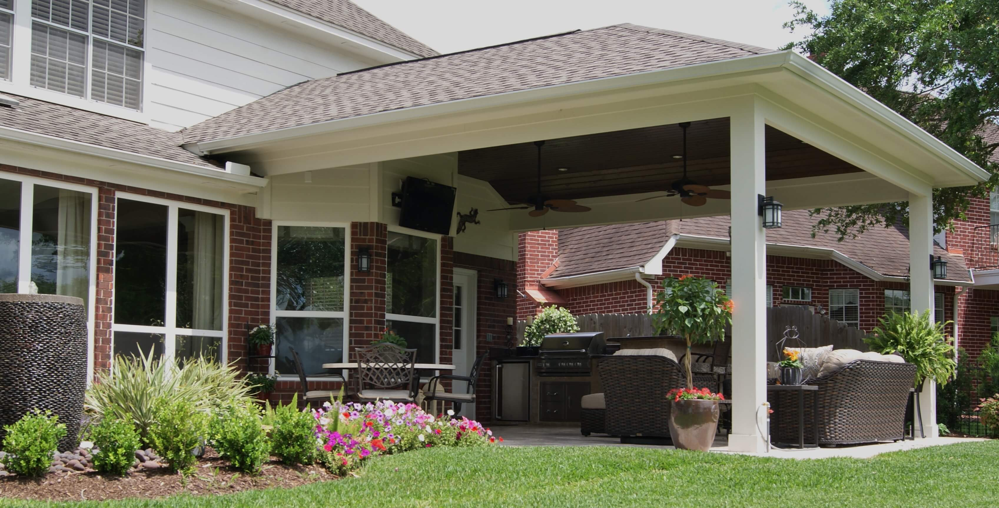 Merveilleux Stunning Patio Covers Houston Houston Patio Cover Dallas Patio Inside  Sizing 3394 X 1727