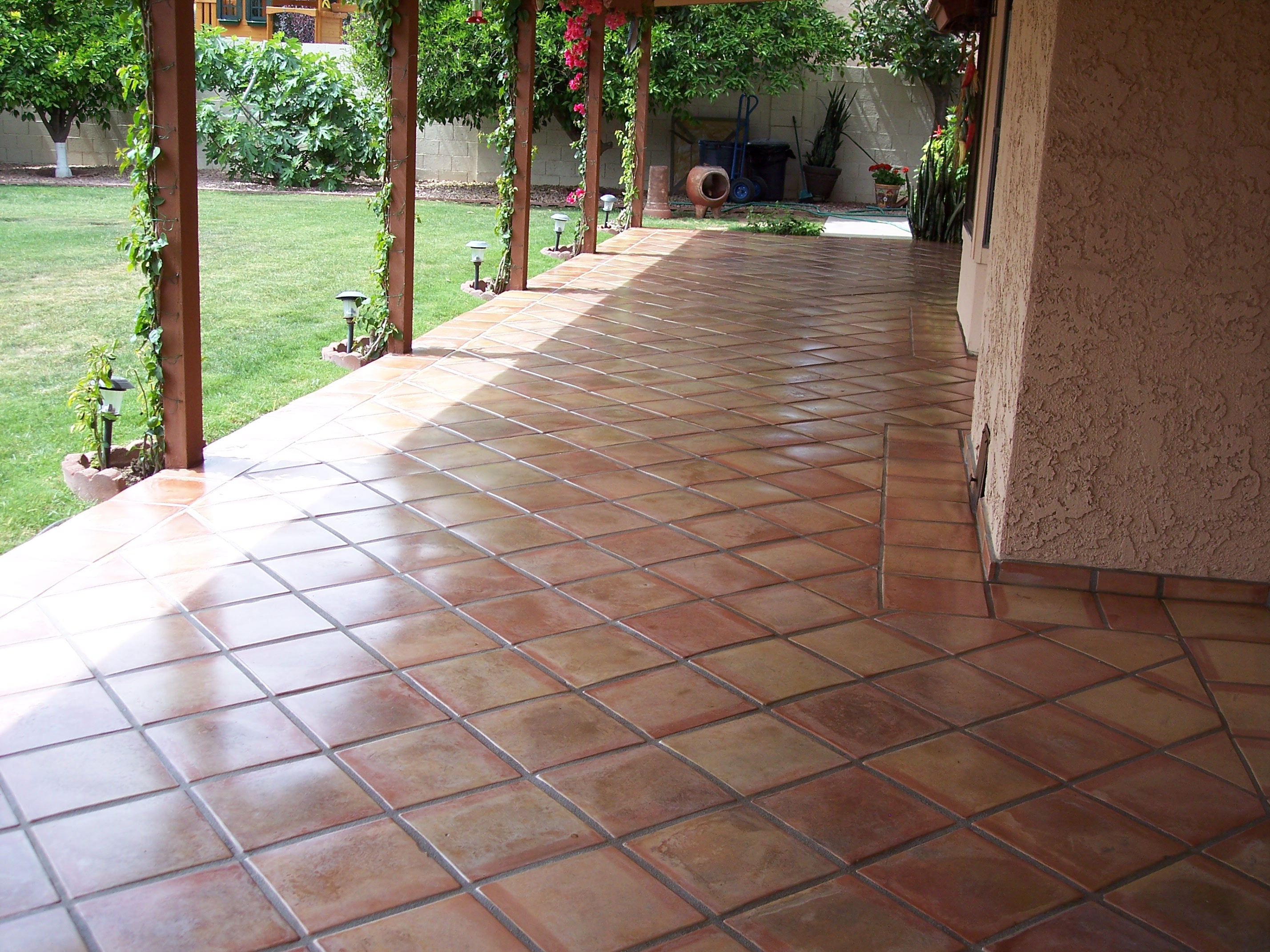 Beau Ultimate Guide To Scottsdale Outdoor Tile Desert Tile Asbestos Floor Inside  Sizing 2856 X 2142