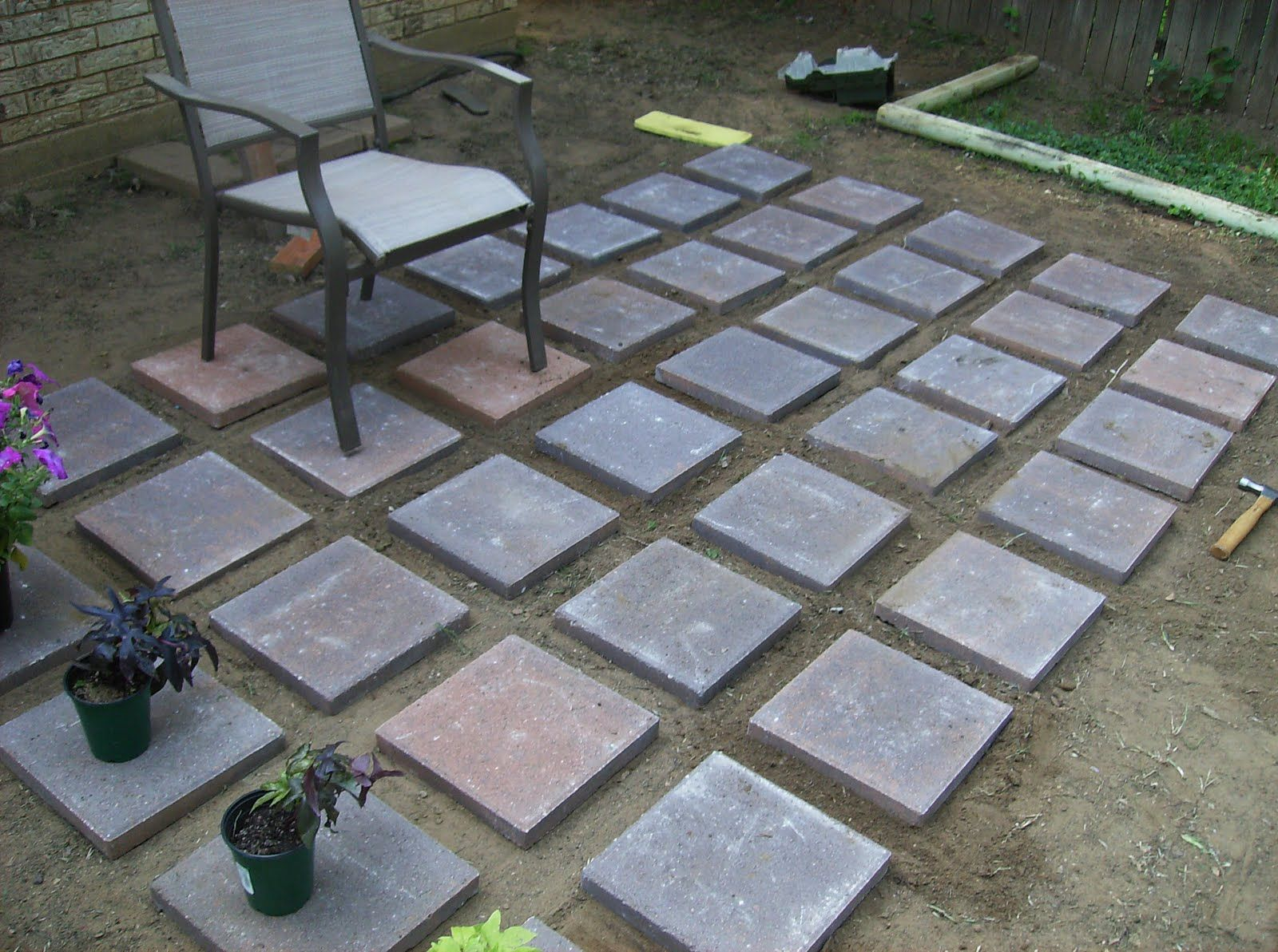 Beau Unbelievable Surprising Ideas Concrete Patio Blocks Installation Of  Pertaining To Sizing 1600 X 1193
